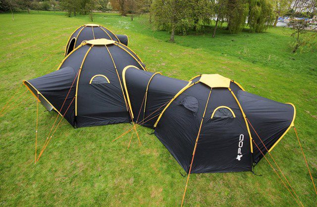 POD Tents Modular Camping System 1
