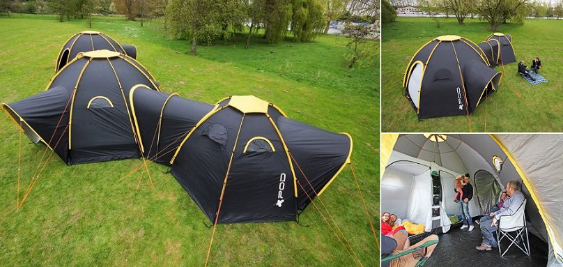 POD Tents Modular C&ing System & Tent | iCreatived