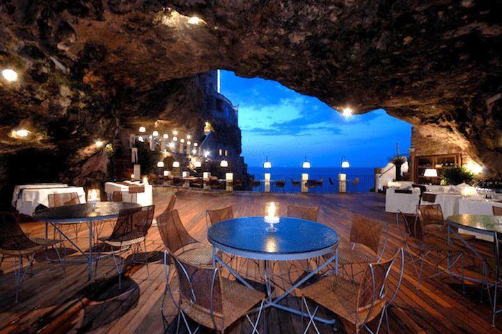 Restaurant Built Inside a Cave Offers Unique Dining Experience Along the Adriatic Sea 1