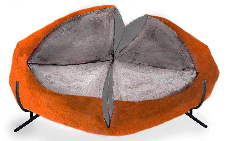 'Slashed' Sofa by Charlotte Kingsworth 4
