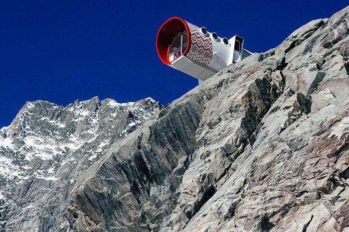 Stunning Gervasutti Hut by Leapfactory 2