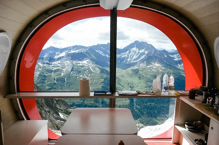 Stunning Gervasutti Hut by Leapfactory 3