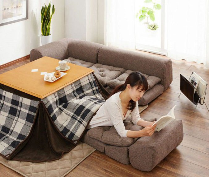 The kotatsu, An Ingenious Japanese Table That Offers The Comfort Of Giant Warm Bed 8