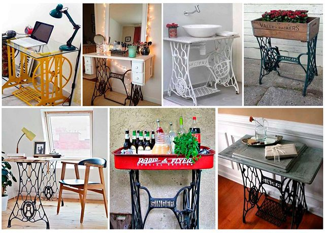 Various Ways To Reuse An Old Sewing Machine 1