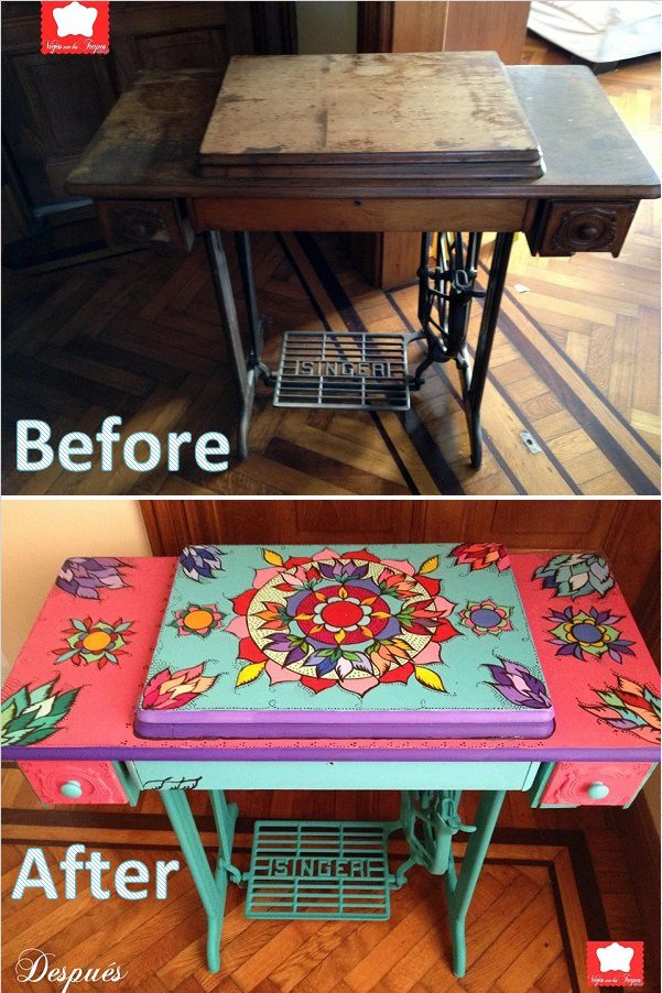 Various Ways To Reuse An Old Sewing Machine 2