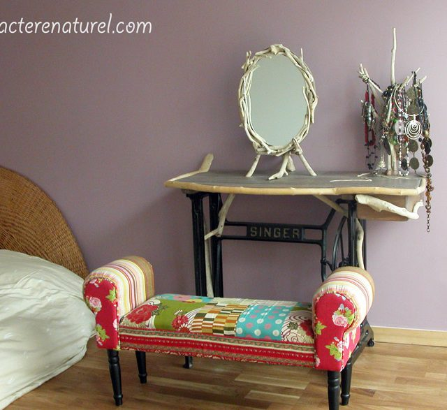 Various Ways To Reuse An Old Sewing Machine 3