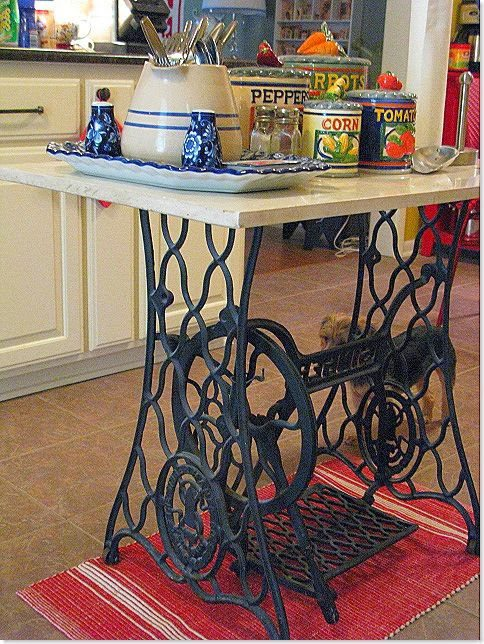 Various Ways To Reuse An Old Sewing Machine 7
