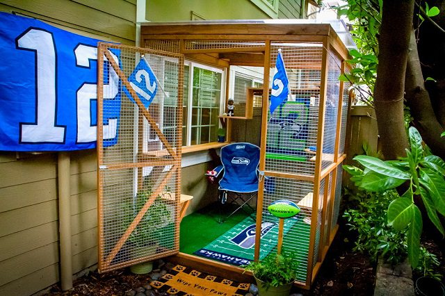 """Catio Spaces"" Keep Your Cat Safe and Happy 3"