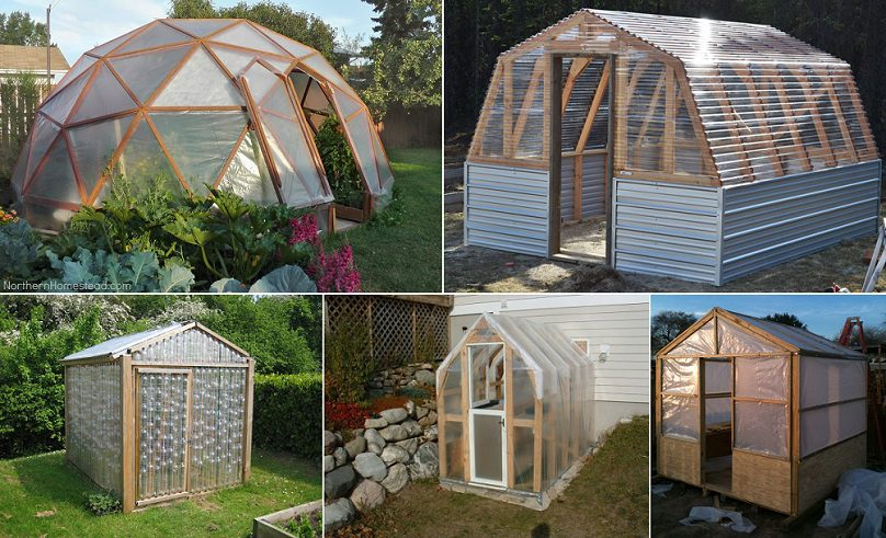 10 easy diy free greenhouse plans icreatived for Build own greenhouse