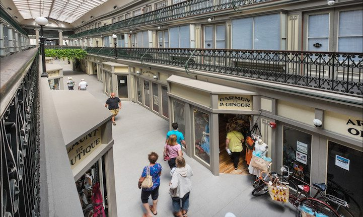 America's Oldest Mall Now Contains 48 Charming Economical Micro-Apartments 1