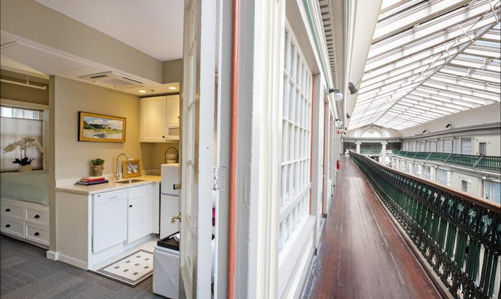 America's Oldest Mall Now Contains 48 Charming Economical Micro-Apartments 3