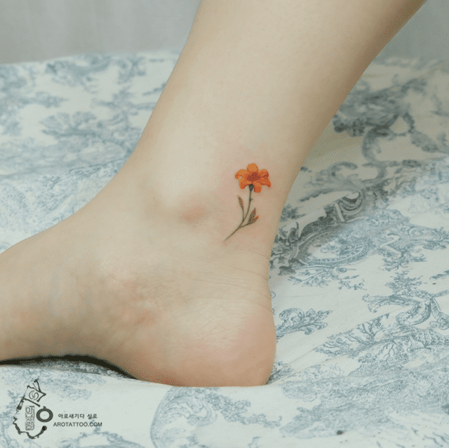 Ethereal Floral Tattoos Mimic Delicate Watercolor Paintings on Skin 8