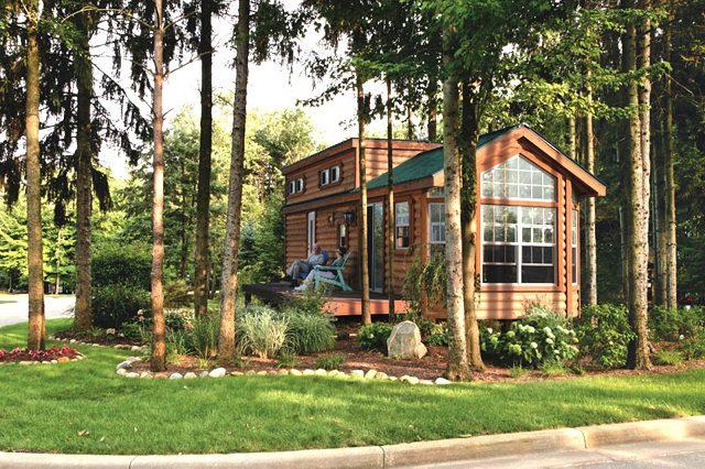 Wundersch ne kabine komplett f r nur eingerichtet for Cooper s cabin park city