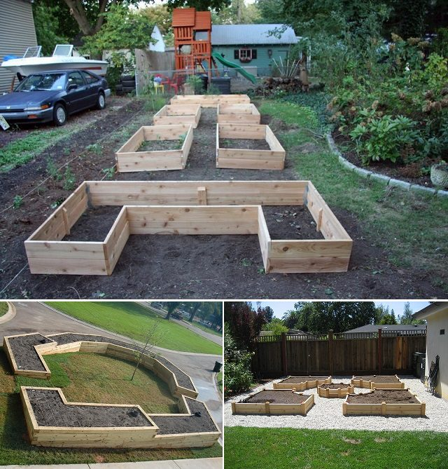 Unique Raised Bed Garden Ideas: How To Build A U-Shaped Raised Garden Bed