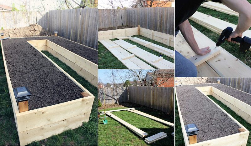 20 Brilliant Raised Garden Bed Ideas You Can Make In A: How To Build A U-Shaped Raised Garden Bed