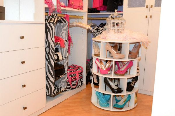 Lazy Susan Shoe Rack Icreatived