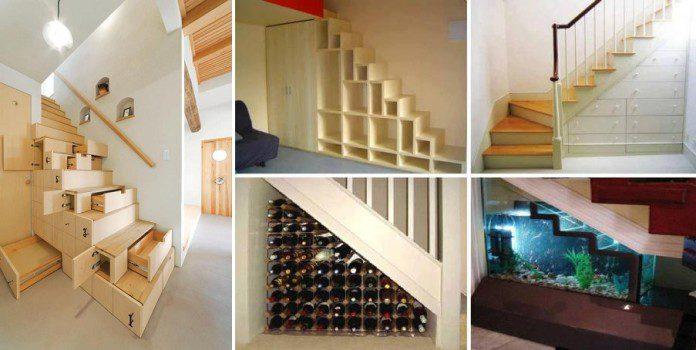 Original Storage Ideas Under Stairs & Original Storage Ideas Under Stairs - iCreatived