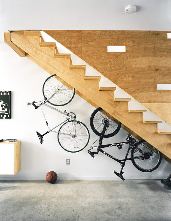 Original Storage Ideas Under Stairs 8