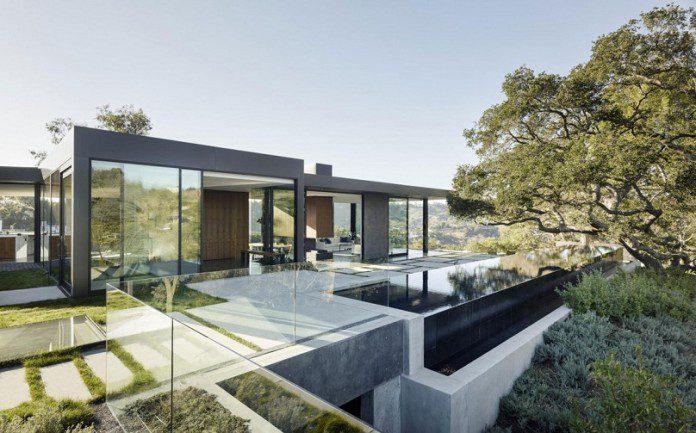 The oak pass house by walker workshop icreatived for Casa moderna storm oak