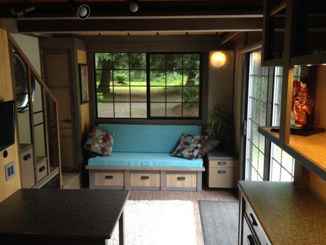 This Little 280 Sq.Ft Tiny House's Gorgeous Interior Will Blow Your Mind 2