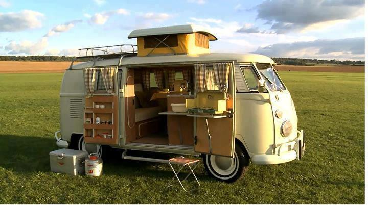 VW Verdier's Concept Stylish Solar-Powered Eco Camper 1