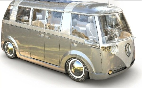 VW Verdier's Concept Stylish Solar-Powered Eco Camper 10