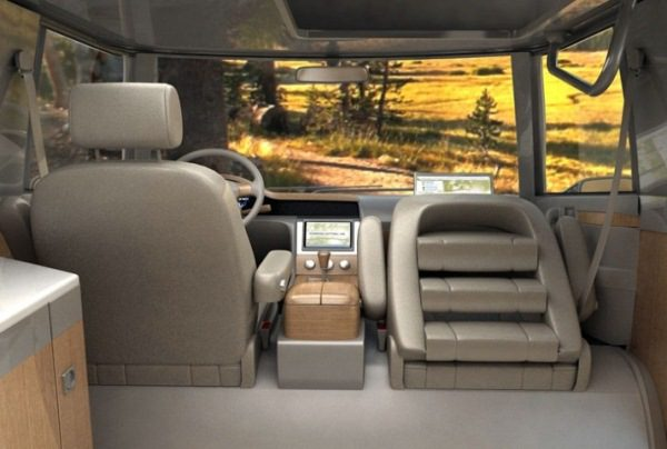 VW Verdier's Concept Stylish Solar-Powered Eco Camper 6