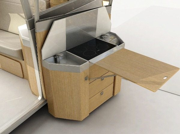 VW Verdier's Concept Stylish Solar-Powered Eco Camper 7