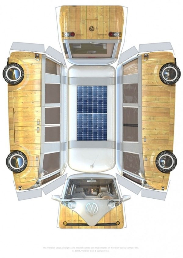 VW Verdier's Concept Stylish Solar-Powered Eco Camper 8