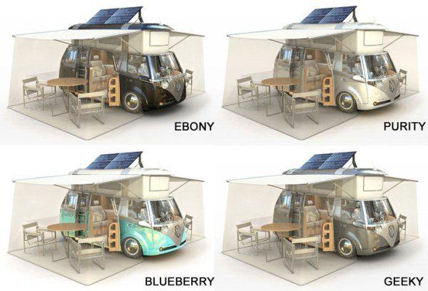 VW Verdier's Concept Stylish Solar-Powered Eco Camper 9