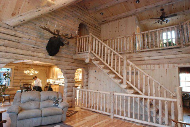 A Beautifully Designed Log Cabin for $56,000 1