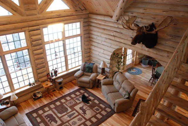 A Beautifully Designed Log Cabin for $56,000 2