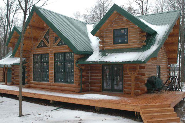 A Beautifully Designed Log Cabin for $56,000 3