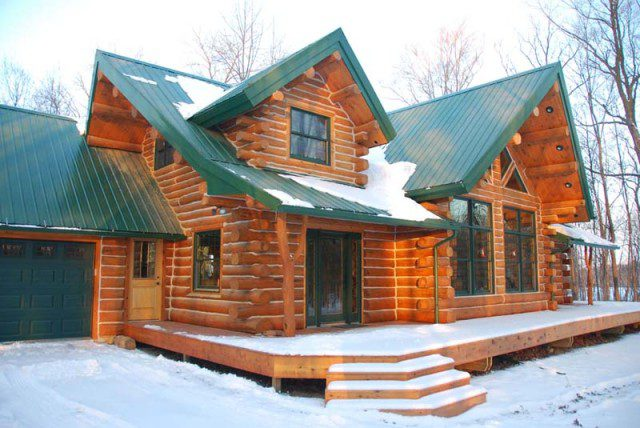 A Beautifully Designed Log Cabin for $56,000 4
