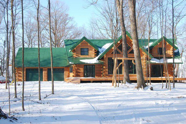 A Beautifully Designed Log Cabin for $56,000 5