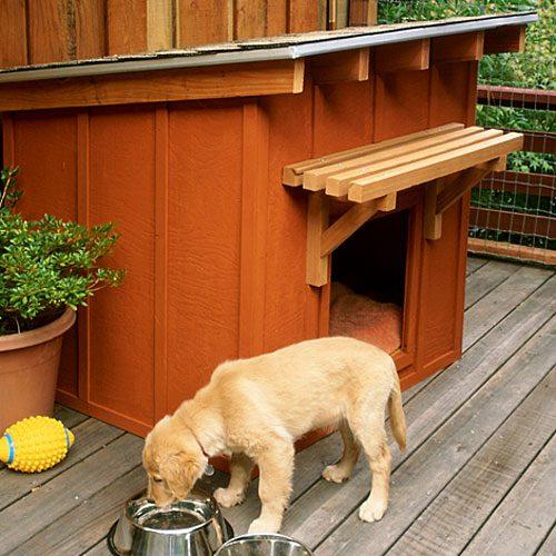 10 Free Dog House Plans 3