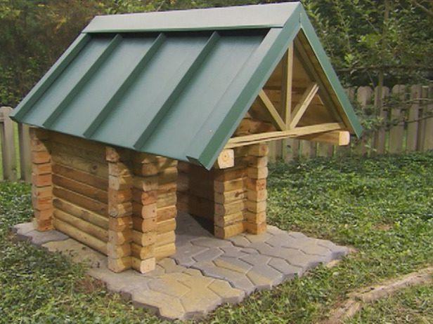 10 Free Dog House Plans 4
