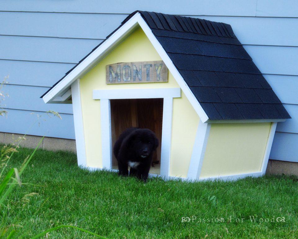 10 Free Dog House Plans 6