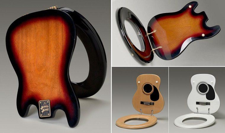 Best Bathroom Decor Music Themed Bathroom Bathroom Ideas For Music Lovers  Guitar Toilet Seats