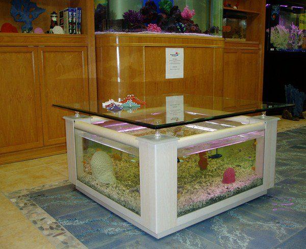 Cool Aquarium Coffee Tables 1