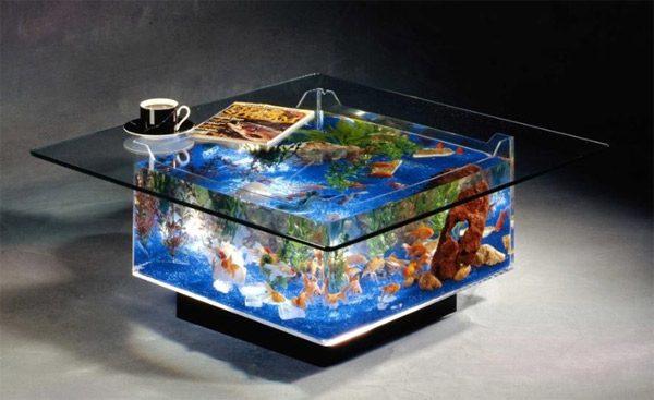 Cool Aquarium Coffee Tables 10