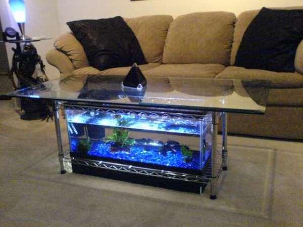 Cool Aquarium Coffee Tables 11