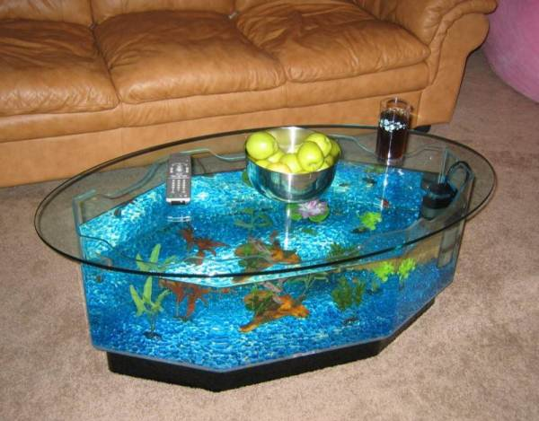 Cool Aquarium Coffee Tables Icreatived
