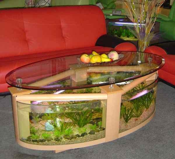 Cool Aquarium Coffee Tables 4
