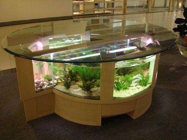 Cool Aquarium Coffee Tables 5