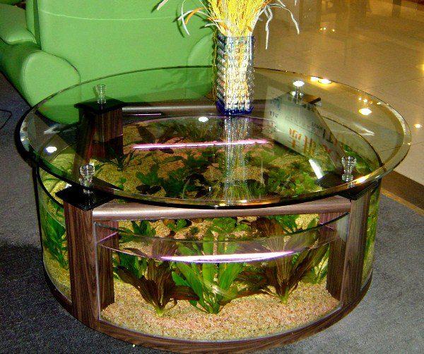 Cool Aquarium Coffee Tables 7