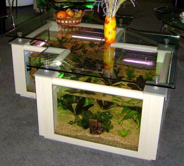 Cool Aquarium Coffee Tables 8