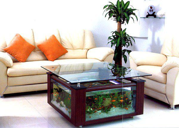 Cool Aquarium Coffee Tables 9
