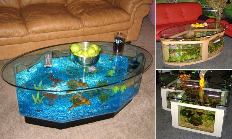 Aquarium Coffee Table.Cool Aquarium Coffee Tables Icreatived