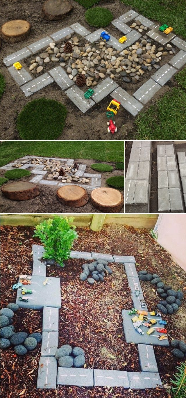DIY Race Car Track: Backyard Projects for Kids - iCreatived